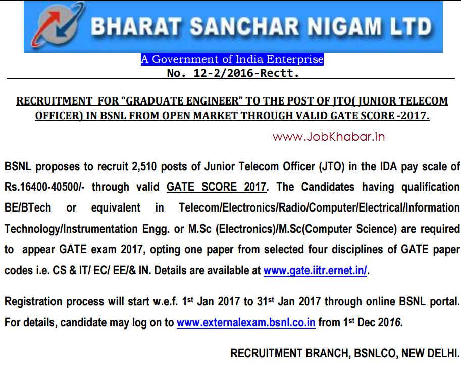 Bharat Sanchar Nigam Limited (A Govt of India Enterprises ...